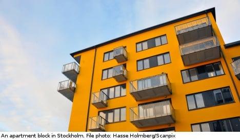 Swedish landlords in for rent slowdown: report