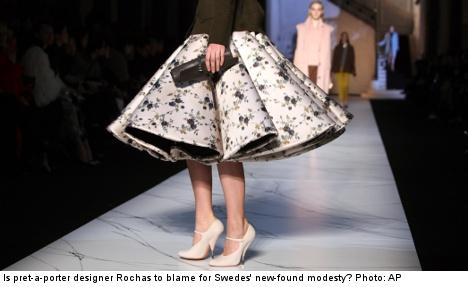 Modesty trend blitzes sizzling Swedish skin