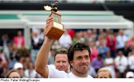 Carlos Berlocq claims Swedish Open title