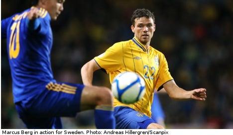 Sweden's Marcus Berg signs for Greek side