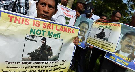 French film festival sparks Sri Lanka protests