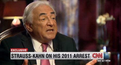 DSK denies 'problem with women' in rare interview