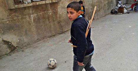 Norway's Syria aid depletes aid budget