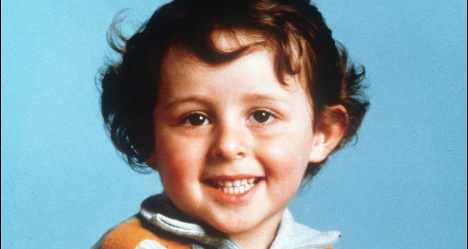 Murdered boy's image used for kindergarten ad