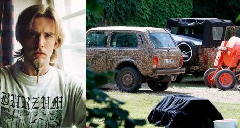 French police release neo-Nazi Vikernes