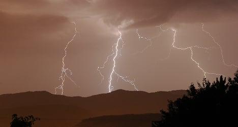 Northern France on alert for storms after heatwave
