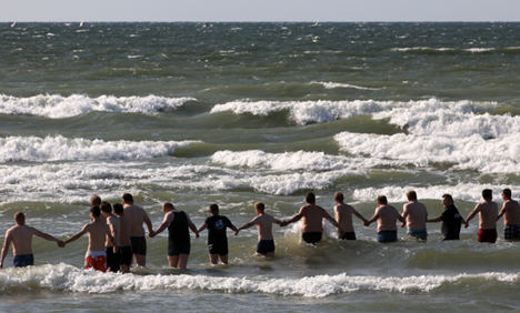 Four swimming deaths in a week prompt warning