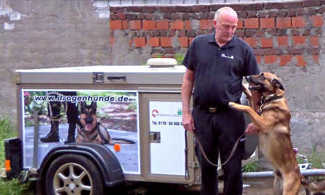 Worried parents hire sniffer dog to check kids