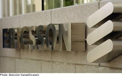 Ericsson shares fall despite profits hike
