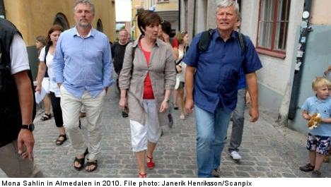 Neo-Nazi trio threatens ex-party leader Sahlin