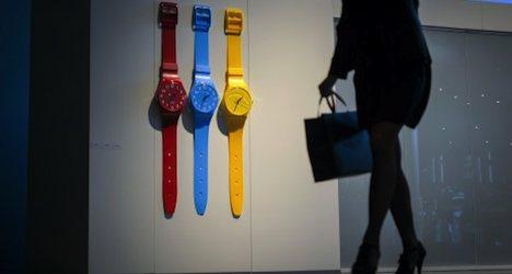 Watchmakers unfazed by Apple's 'smartwatch'