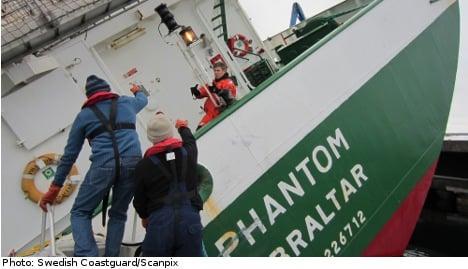 'Phantom' ship drama caused by overloading