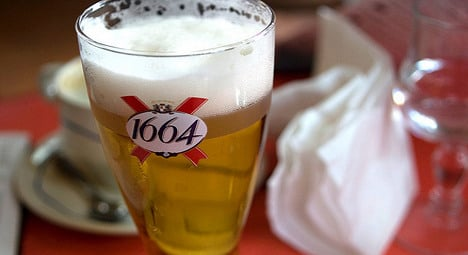France sees steep rise in price of beer
