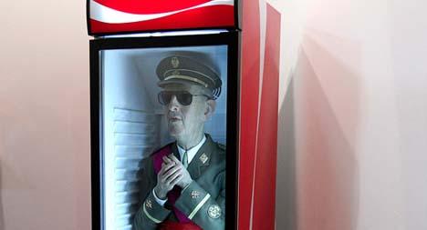 'Frozen Franco' artist found not guilty