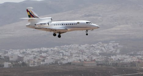 'They told us Snowden was in the plane': Spain