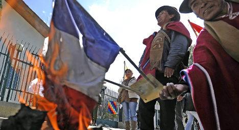 Snowden affair: France apologises to Bolivia