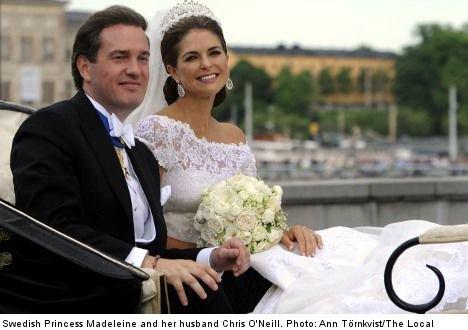 Princess Madeleine tells of 'terrible' tihi moment