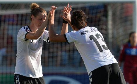 Women footballers face Sweden in Euro semi