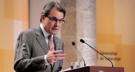 'Catalonia finances Spain': Catalan President