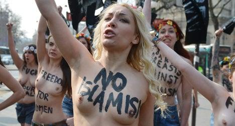 France 'grants' political asylum to Femen leader