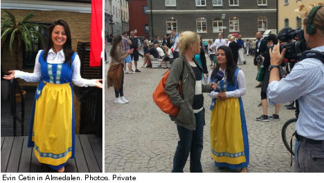'I need to reclaim Swedishness': Evin Cetin