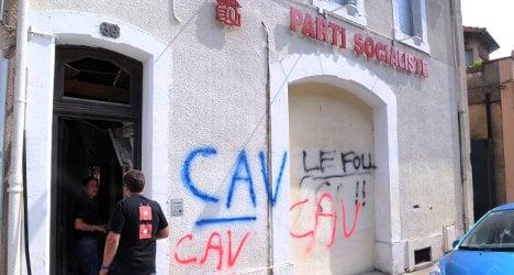 French 'wine militants' blamed for bomb blast