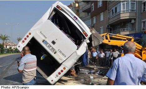 Seven Swedes still in care after Turkey crash
