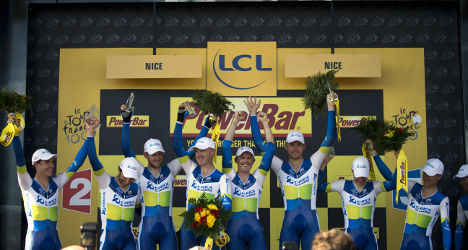 Tour de France: Gerrans takes yellow jersey