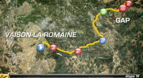 VIDEO: Tour de France stage 16 preview