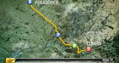 VIDEO: Tour de France stage 12 preview