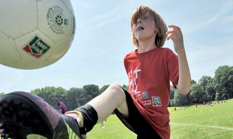 Brawl breaks out at kids' footie game