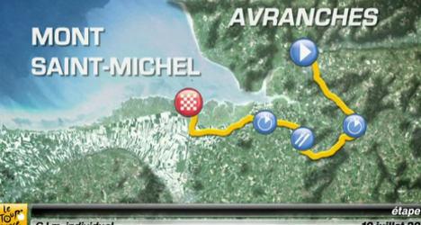 Tour de France stage 11: A race against the clock