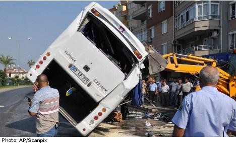 Brake error behind fatal Turkey coach crash
