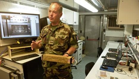 French bomb lab hunts killer clues in Kabul