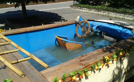 Drunk inventors caught cruising in car-pool