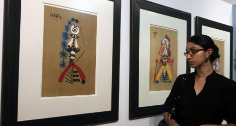 'They have stolen over 400 of my Picasso works'