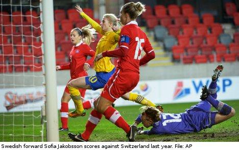 Swedish women intent on Euro 2013 glory