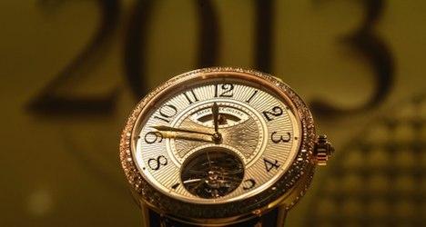Chinese tourists drive Swiss watch sales