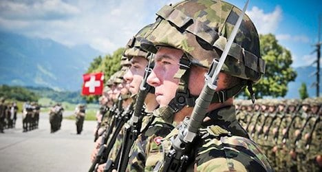More Swiss army recruits are overweight: study