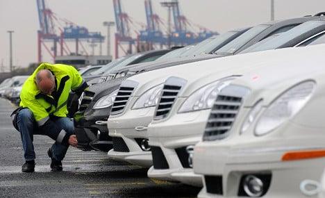 France bans latest Mercedes cars