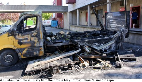 First conviction handed down after Husby riots