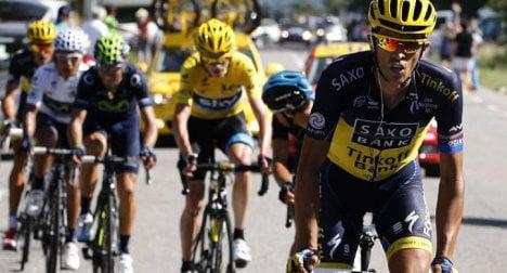 Froome slams Alberto Contador's Tour tactics