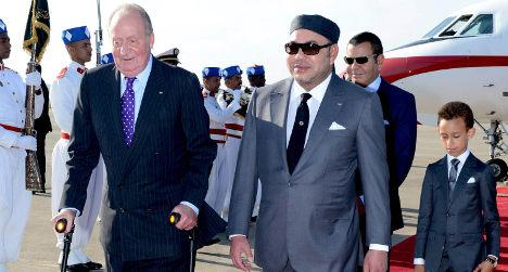 Spanish King makes 'symbolic' Morocco visit