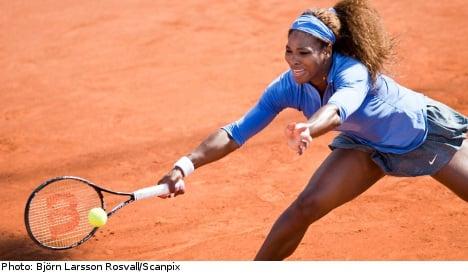 Williams claims Swedish Open last eight spot