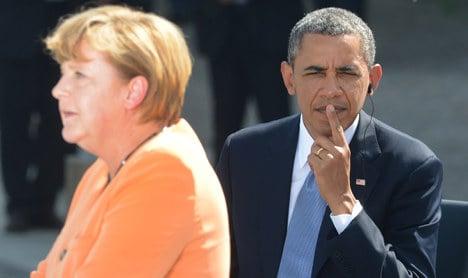 Merkel and Obama talk spy scandal concerns