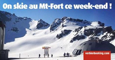 Verbier opens for summer skiing weekend