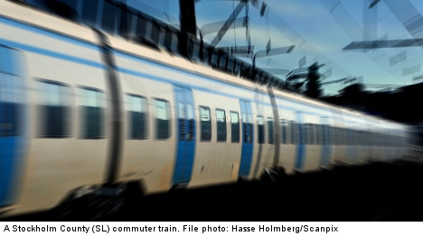 Truck accident stalls south Stockholm trains