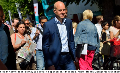 Almedalen Dispatch: a room with a viewpoint