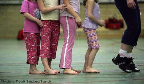 Swedish sisters skip 'sinful' dance class