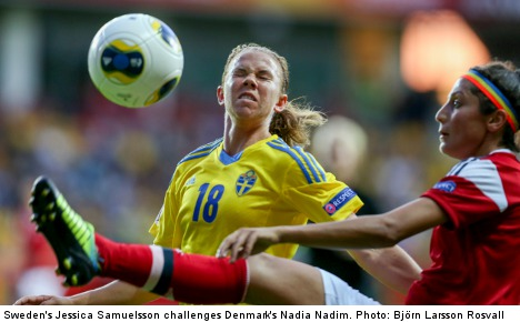 Swedish football team faces sexist backlash